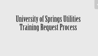 u springs training request 2 of 5 snip