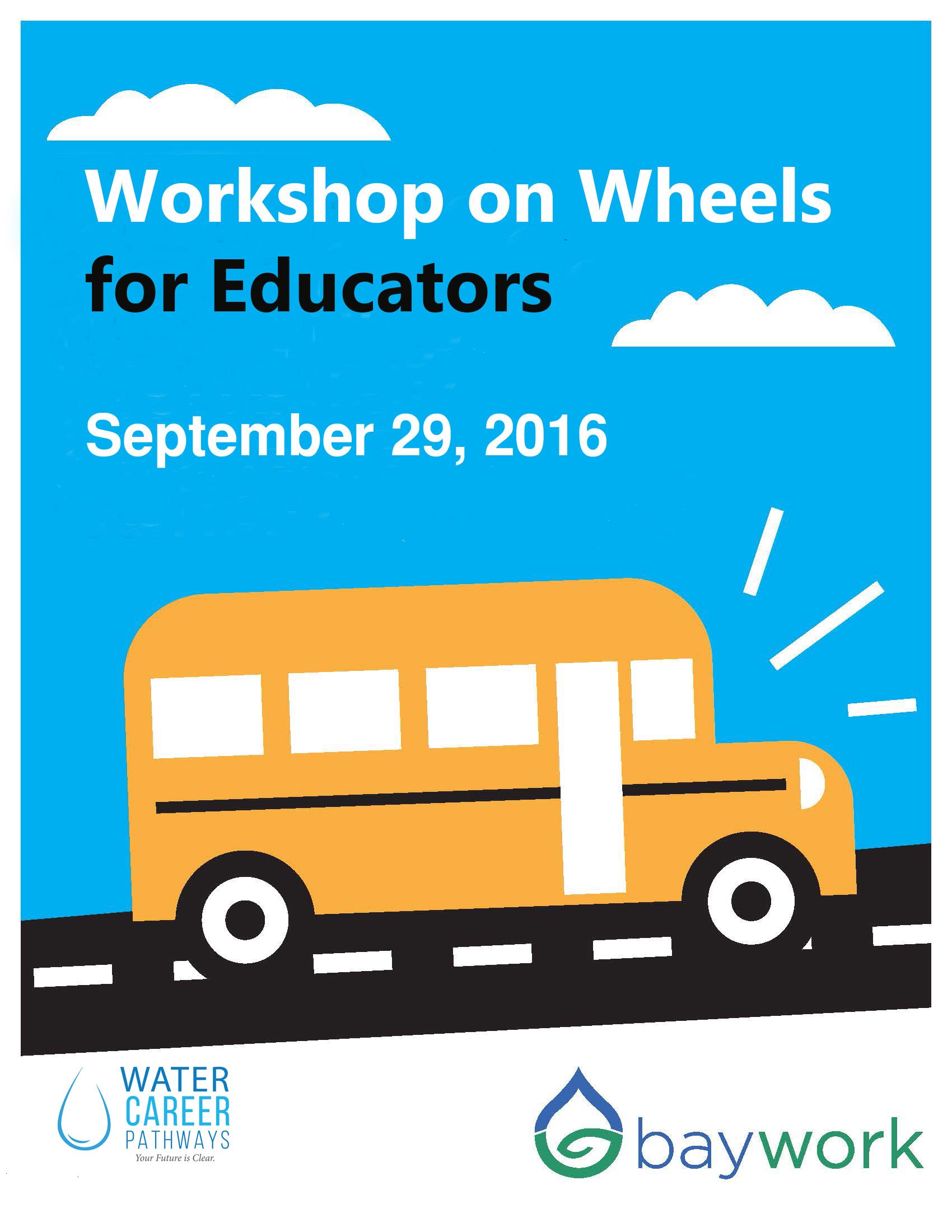 Workshop on Wheels for Educators Cover