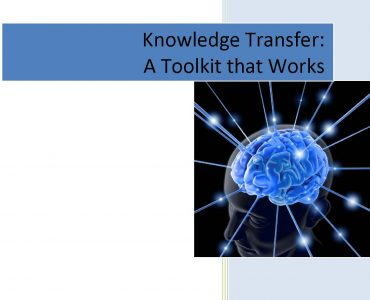 SMUD Knowledge Capture Presentation Handouts Buffetn_Nov 2015 cover